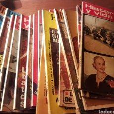 Coleccionismo de Revistas y Periódicos: GRAN LOTE 44 REVISTAS HISTORIA Y VIDA. Lote 183266551