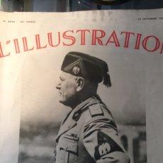 Coleccionismo de Revistas y Periódicos: REVISTA L ILLUSTRATION. 12 DE OCTUBRE DE 1935.. Lote 183283933
