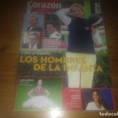 Coleccionismo de Revistas y Periódicos: REVISTA HOY CORAZON AÑO 2015 N° 445 INFANTA ELENA JUSTIN BIEBER VERONICA FORQUE . Lote 183362911