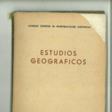 Coleccionismo de Revistas y Periódicos: ESTUDIOS GEOGRÁFICOS NÚMERO 44 AGOSTO 1951 AÑO XI. Lote 183369315