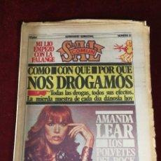 Coleccionismo de Revistas y Periódicos: SEMANARIO QUINCENAL SAL COMUN NUMERO 8 - AMANDA LEAR. Lote 183371051