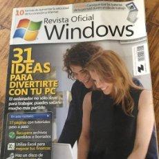 Coleccionismo de Revistas y Periódicos: REVISTA OFICIAL WINDOWS - NUMERO 43 FEBRERO 2011. Lote 183385336