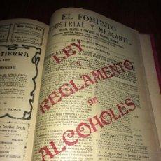 Coleccionismo de Revistas y Periódicos: EL FOMENTO INDUSTRIAL Y MERCANTIL - AÑO 1908 - TOMO CON 29 EJEMPLARES - MADRID. Lote 183392587
