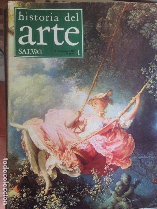 Coleccionismo de Revistas y Periódicos: LOTE DE REVISTAS - HISTORIA DEL ARTE - SALVAT / 61 unidades, distintas numeraciones VER DESCRIPCION - Foto 2 - 183420596