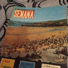 Coleccionismo de Revistas y Periódicos: REVISTA SEMANA 19 NOVIEMBRE 1963 N° 1.239 AÑO XXIV. Lote 183438930