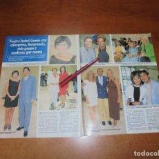 Coleccionismo de Revistas y Periódicos: CLIPPING 1997: ISABEL GEMIO. SILVIA MARSÓ. INGRID ASENSIO. ARTURO FERNÁNDEZ. FRANCIS LORENZO. . Lote 183445192