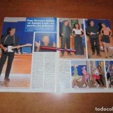 Coleccionismo de Revistas y Periódicos: CLIPPING 1997: PEPE NAVARRO. MARIBEL RIPOLL. LUCAS Y SUS JANDERS.. Lote 183445200