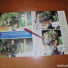 Coleccionismo de Revistas y Periódicos: CLIPPING 1997: FRAN RIVERA Y EUGENIA MARTINEZ DE IRUJO.. Lote 183445245