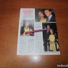 Coleccionismo de Revistas y Periódicos: CLIPPING 1997: CARMEN ORDÓÑEZ Y ERNESTO NEIRA. Lote 183445253