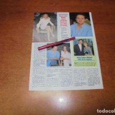Coleccionismo de Revistas y Periódicos: CLIPPING 1997: MARÍA LUISA MERLO. DAVID ZARZO. BATRIZ RICO. . Lote 183445265