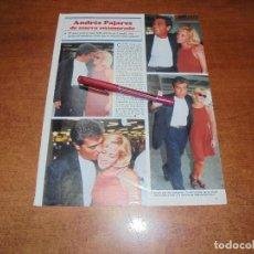 Coleccionismo de Revistas y Periódicos: CLIPPING 1997: ANDRÉS PAJARES. Lote 183445270