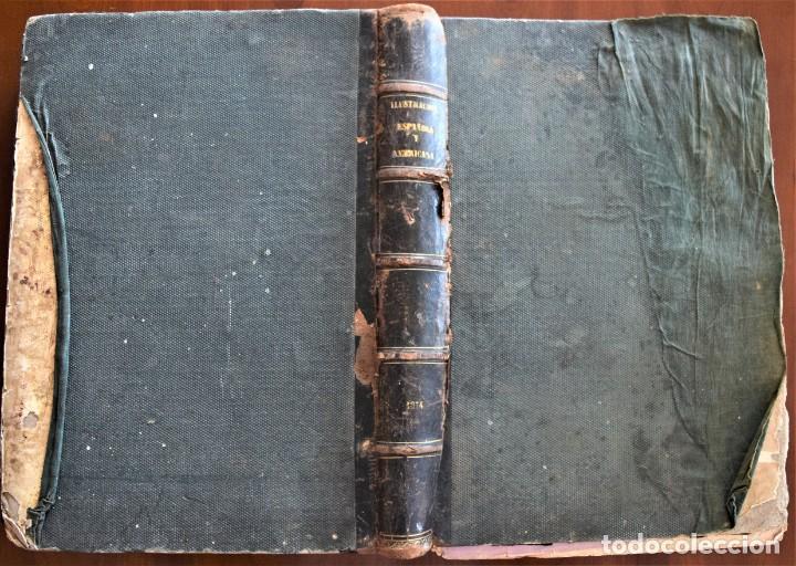 Coleccionismo de Revistas y Periódicos: TOMO LA ILUSTRACIÓN ESPAÑOLA Y AMERICANA AÑO COMPLETO 1874 - TERCERA GUERRA CARLISTA, SITIO BILBAO - Foto 2 - 183513931