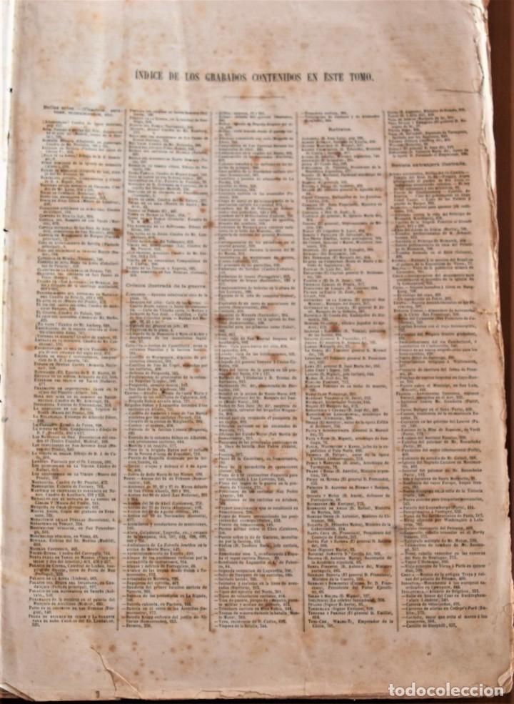 Coleccionismo de Revistas y Periódicos: TOMO LA ILUSTRACIÓN ESPAÑOLA Y AMERICANA AÑO COMPLETO 1874 - TERCERA GUERRA CARLISTA, SITIO BILBAO - Foto 4 - 183513931