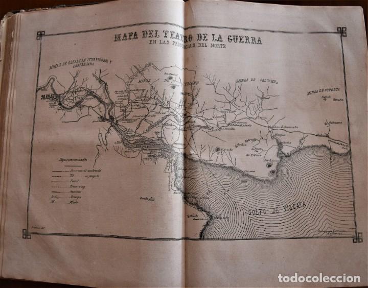 Coleccionismo de Revistas y Periódicos: TOMO LA ILUSTRACIÓN ESPAÑOLA Y AMERICANA AÑO COMPLETO 1874 - TERCERA GUERRA CARLISTA, SITIO BILBAO - Foto 11 - 183513931