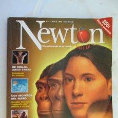 Coleccionismo de Revistas y Periódicos: NEWTON REVISTA Nº 1 - COMO ERAMOS Y COMO SEREMOS - LA EVOLUCION DEL HOMBRE . Lote 183546778
