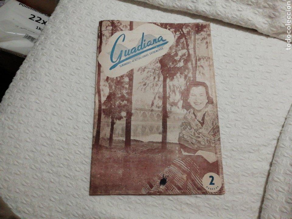 ANTIGUA REVISTA GUADIANA DE BADAJOZ 2 DE MARZO DE 1946. (Coleccionismo - Revistas y Periódicos Modernos (a partir de 1.940) - Otros)