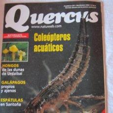 Coleccionismo de Revistas y Periódicos: REVISTA QUERCUS. NUM 201. Lote 183640166