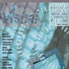 Coleccionismo de Revistas y Periódicos: VISUAL - Nº ONCE - MAGAZINE DE DISEÑO, CREATIVIDAD GRÁFICA Y COMUNICACIÓN 1989. Lote 183659518