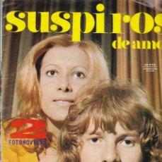 Coleccionismo de Revistas y Periódicos: SUSPIROS DE AMOR - 2 FOTONOVELAS - BESOS SIN RUIDO - ED. NUEVA FRONTERA 1971. Lote 183664643