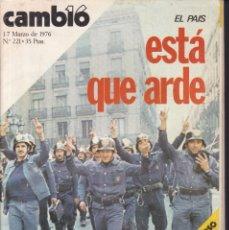 Coleccionismo de Revistas y Periódicos: CAMBIO 16 - Nº 221 / MARZO 1976. Lote 183677435