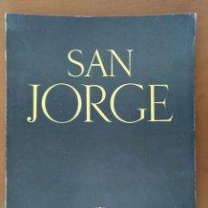 Coleccionismo de Revistas y Periódicos: REVISTA SAN JORGE Nº 17 ENERO 1955 OTGER CATALO - EL MARESME DIPUTACION BARCELONA. Lote 183683995