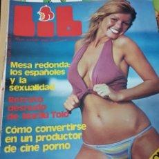 Coleccionismo de Revistas y Periódicos: LOTE ANTIGUAS REVISTAS ERÓTICAS LIB. Lote 183737267
