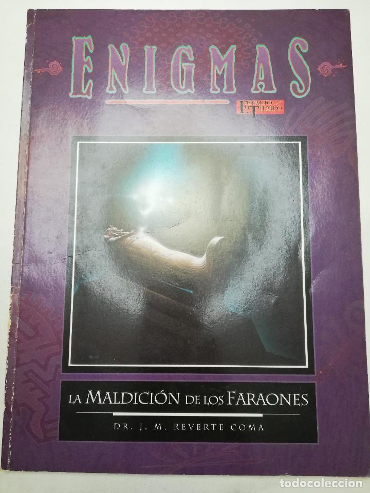 LA MALDICIÓN DE LOS FARAONES (DR. J. M. REVERTE COMA) ENIGMAS (Coleccionismo - Revistas y Periódicos Modernos (a partir de 1.940) - Otros)