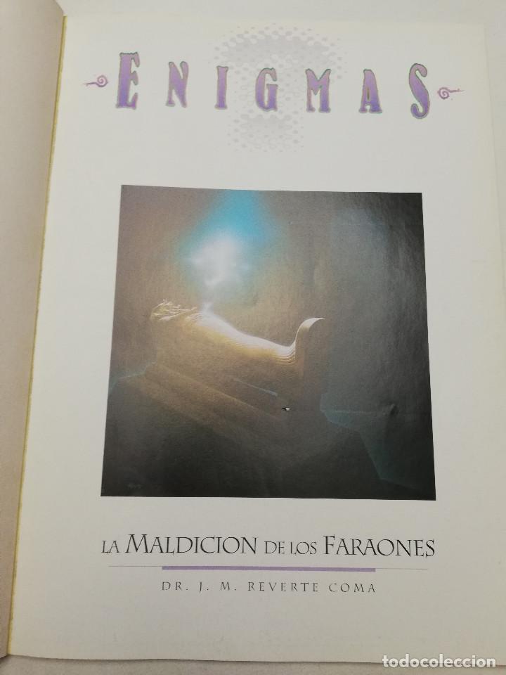 Coleccionismo de Revistas y Periódicos: LA MALDICIÓN DE LOS FARAONES (DR. J. M. REVERTE COMA) ENIGMAS - Foto 2 - 183745802