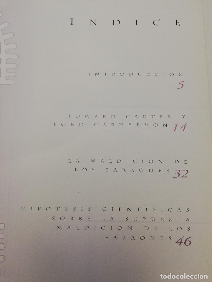 Coleccionismo de Revistas y Periódicos: LA MALDICIÓN DE LOS FARAONES (DR. J. M. REVERTE COMA) ENIGMAS - Foto 3 - 183745802