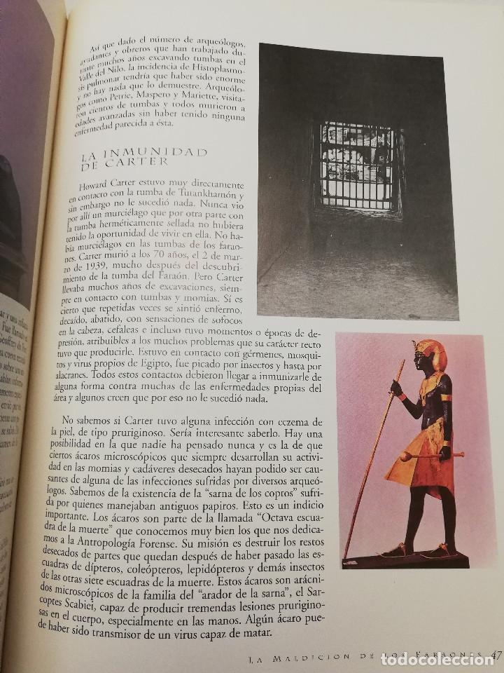 Coleccionismo de Revistas y Periódicos: LA MALDICIÓN DE LOS FARAONES (DR. J. M. REVERTE COMA) ENIGMAS - Foto 4 - 183745802