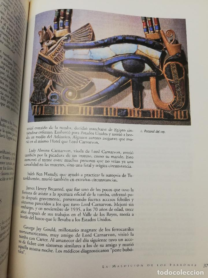 Coleccionismo de Revistas y Periódicos: LA MALDICIÓN DE LOS FARAONES (DR. J. M. REVERTE COMA) ENIGMAS - Foto 5 - 183745802