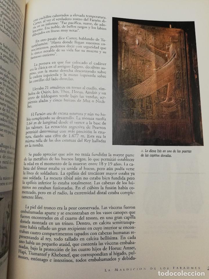 Coleccionismo de Revistas y Periódicos: LA MALDICIÓN DE LOS FARAONES (DR. J. M. REVERTE COMA) ENIGMAS - Foto 6 - 183745802