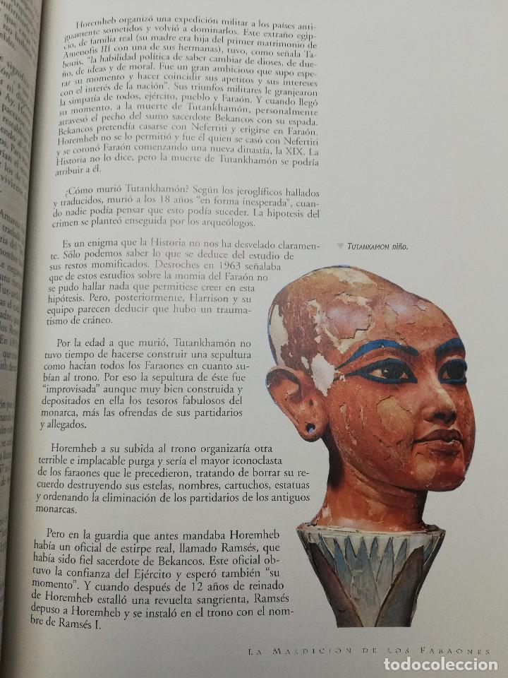 Coleccionismo de Revistas y Periódicos: LA MALDICIÓN DE LOS FARAONES (DR. J. M. REVERTE COMA) ENIGMAS - Foto 7 - 183745802