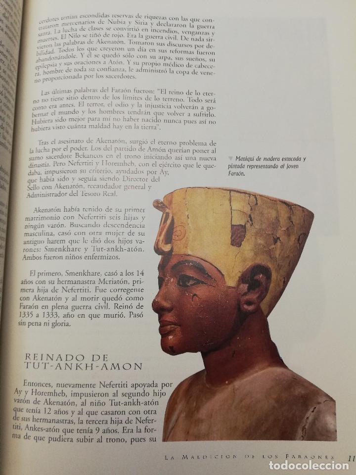 Coleccionismo de Revistas y Periódicos: LA MALDICIÓN DE LOS FARAONES (DR. J. M. REVERTE COMA) ENIGMAS - Foto 8 - 183745802