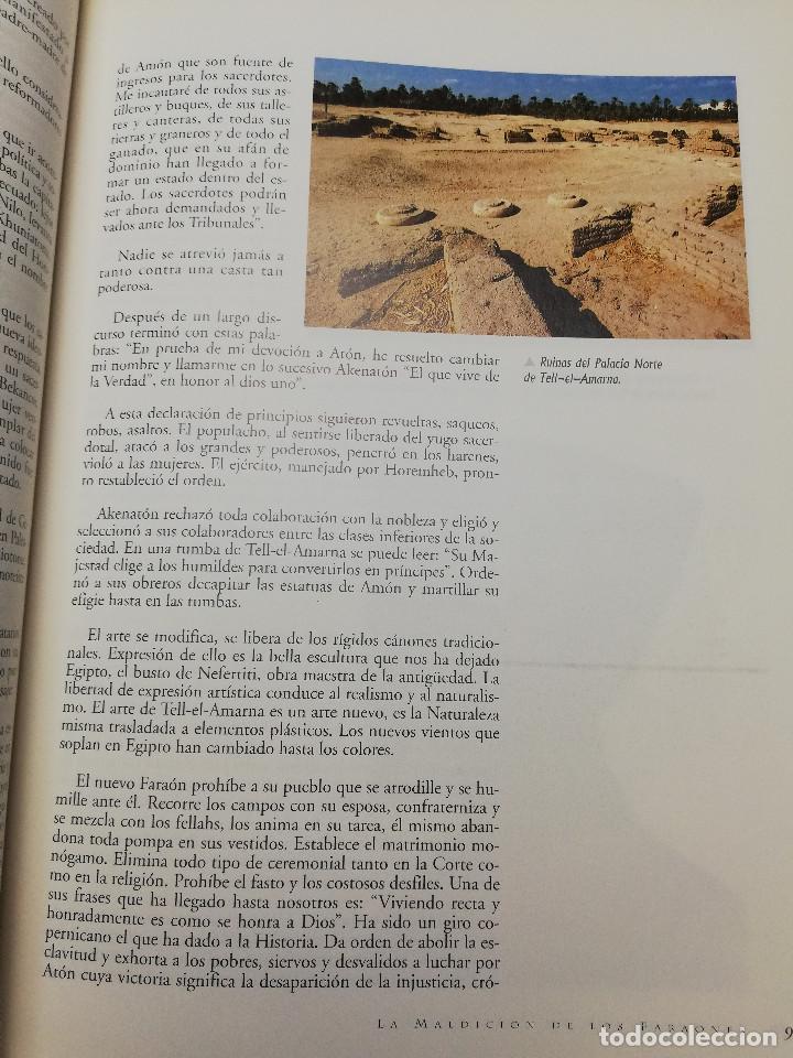 Coleccionismo de Revistas y Periódicos: LA MALDICIÓN DE LOS FARAONES (DR. J. M. REVERTE COMA) ENIGMAS - Foto 9 - 183745802