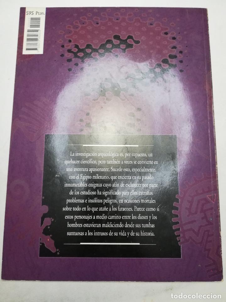 Coleccionismo de Revistas y Periódicos: LA MALDICIÓN DE LOS FARAONES (DR. J. M. REVERTE COMA) ENIGMAS - Foto 10 - 183745802