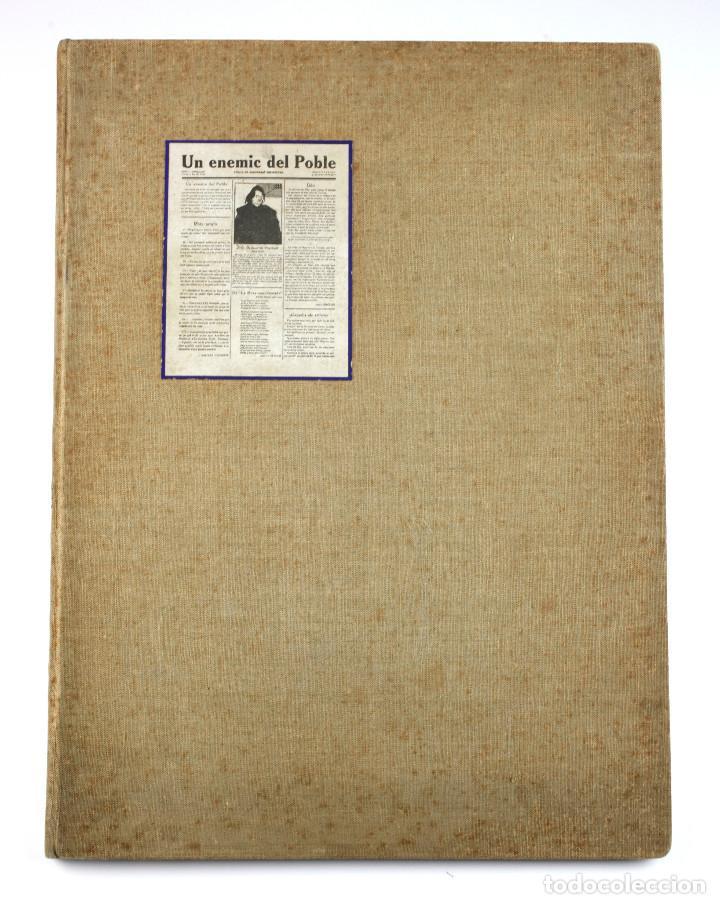 Coleccionismo de Revistas y Periódicos: UN ENEMIC DEL POBLE - JOAN SALVAT-PAPASSEIT. Revista original año 1917-1919. - Foto 2 - 183779416