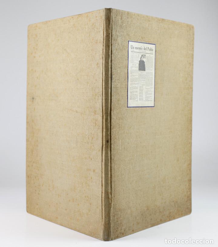 Coleccionismo de Revistas y Periódicos: UN ENEMIC DEL POBLE - JOAN SALVAT-PAPASSEIT. Revista original año 1917-1919. - Foto 3 - 183779416