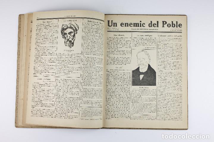 Coleccionismo de Revistas y Periódicos: UN ENEMIC DEL POBLE - JOAN SALVAT-PAPASSEIT. Revista original año 1917-1919. - Foto 10 - 183779416