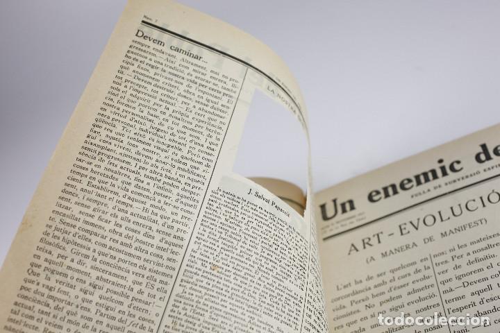 Coleccionismo de Revistas y Periódicos: UN ENEMIC DEL POBLE - JOAN SALVAT-PAPASSEIT. Revista original año 1917-1919. - Foto 14 - 183779416