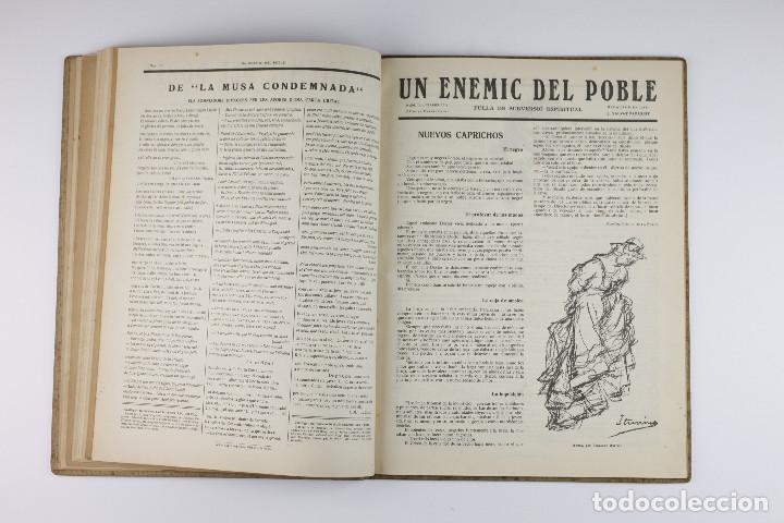 Coleccionismo de Revistas y Periódicos: UN ENEMIC DEL POBLE - JOAN SALVAT-PAPASSEIT. Revista original año 1917-1919. - Foto 20 - 183779416