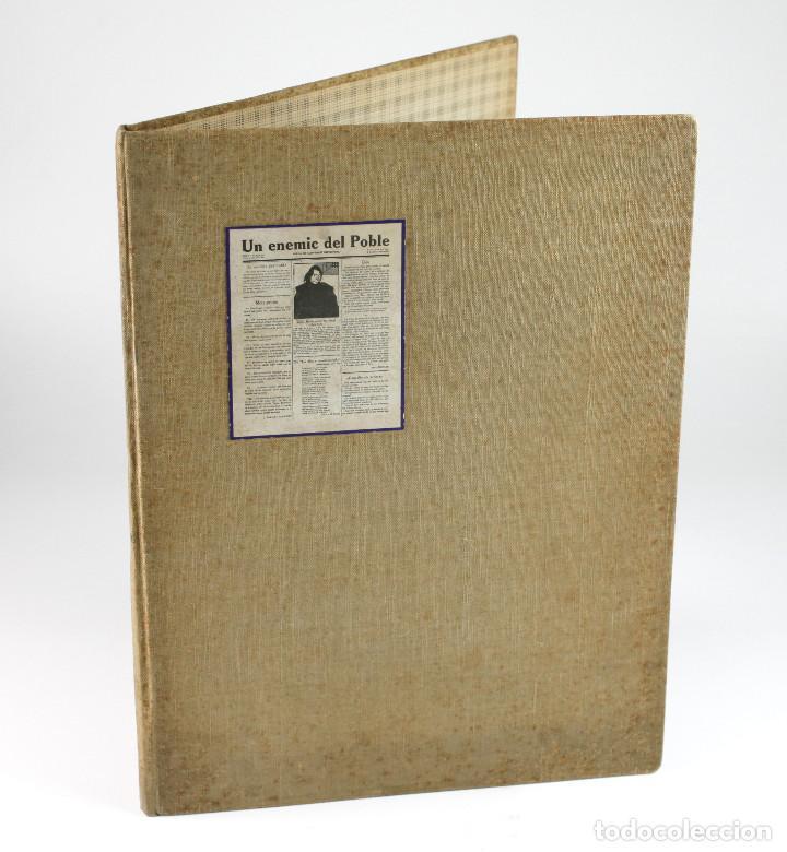 Coleccionismo de Revistas y Periódicos: UN ENEMIC DEL POBLE - JOAN SALVAT-PAPASSEIT. Revista original año 1917-1919. - Foto 33 - 183779416