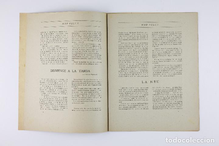 Coleccionismo de Revistas y Periódicos: MAR VELLA - REVISTA NACIONALISTA DE JOVENTUTS. ANY I - DESEMBRE 1919. Nº 4. - Foto 5 - 183782361