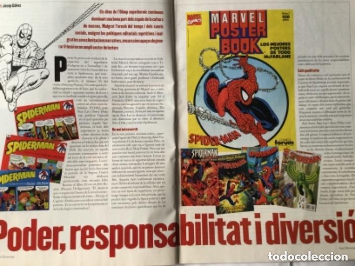 Coleccionismo de Revistas y Periódicos: Avui- spiderman - 2002- català - Foto 3 - 183819201