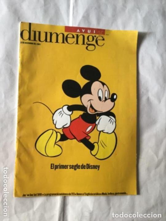 AVUI- DISNEY (EN CATALÁN)- AÑO 2001 (Coleccionismo - Revistas y Periódicos Modernos (a partir de 1.940) - Otros)