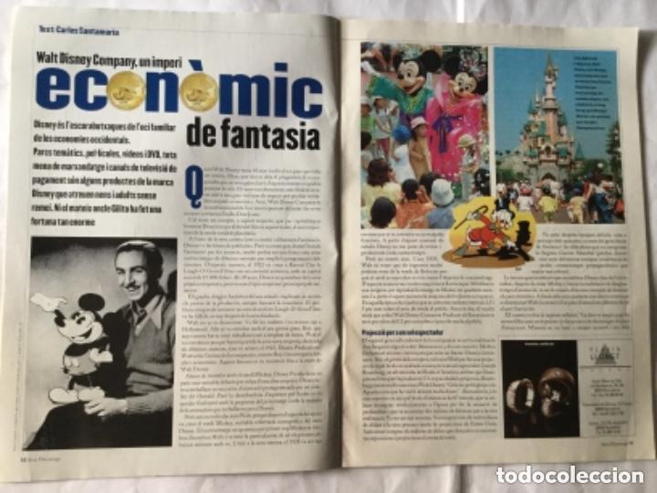 Coleccionismo de Revistas y Periódicos: Avui- disney (en catalán)- año 2001 - Foto 2 - 183819397