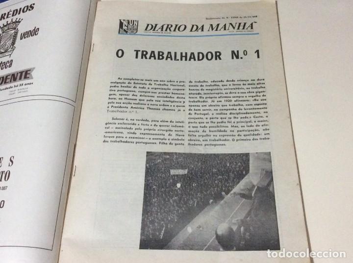 Coleccionismo de Revistas y Periódicos: Suplemento do Diario da manhã. XXX Aniversário do estatuto do Trabalho Nacional, 1968 - Foto 2 - 183820062