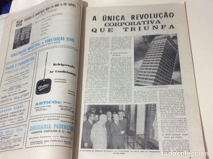 Coleccionismo de Revistas y Periódicos: Suplemento do Diario da manhã. XXX Aniversário do estatuto do Trabalho Nacional, 1968 - Foto 4 - 183820062