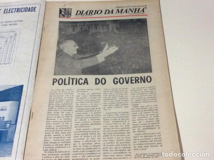 Coleccionismo de Revistas y Periódicos: Suplemento do Diario da manhã. XXX Aniversário do estatuto do Trabalho Nacional, 1968 - Foto 8 - 183820062