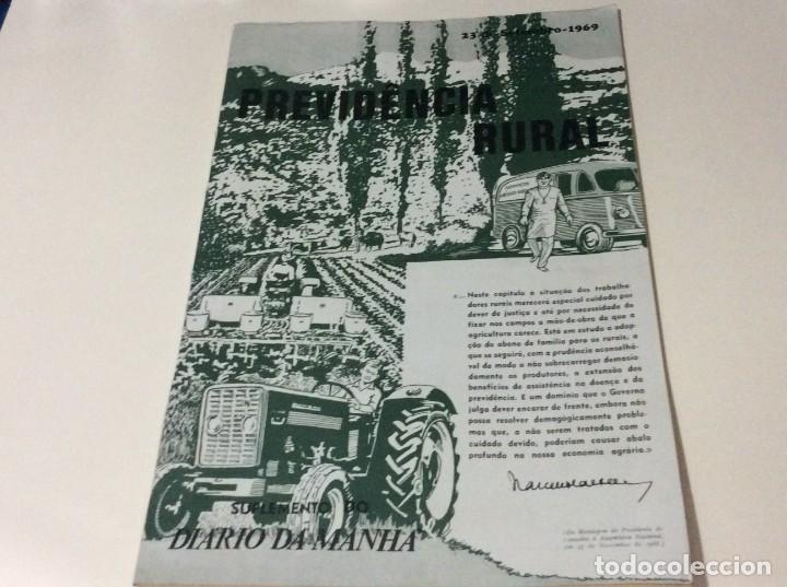Coleccionismo de Revistas y Periódicos: Suplemento do Diario da manhã. XXX Aniversário do estatuto do Trabalho Nacional, 1968 - Foto 9 - 183820062